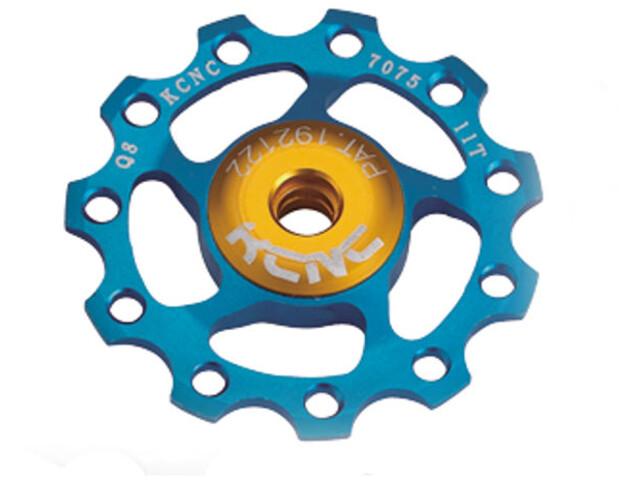KCNC Jockey Wheel 11T Ceramic Bearing, blu